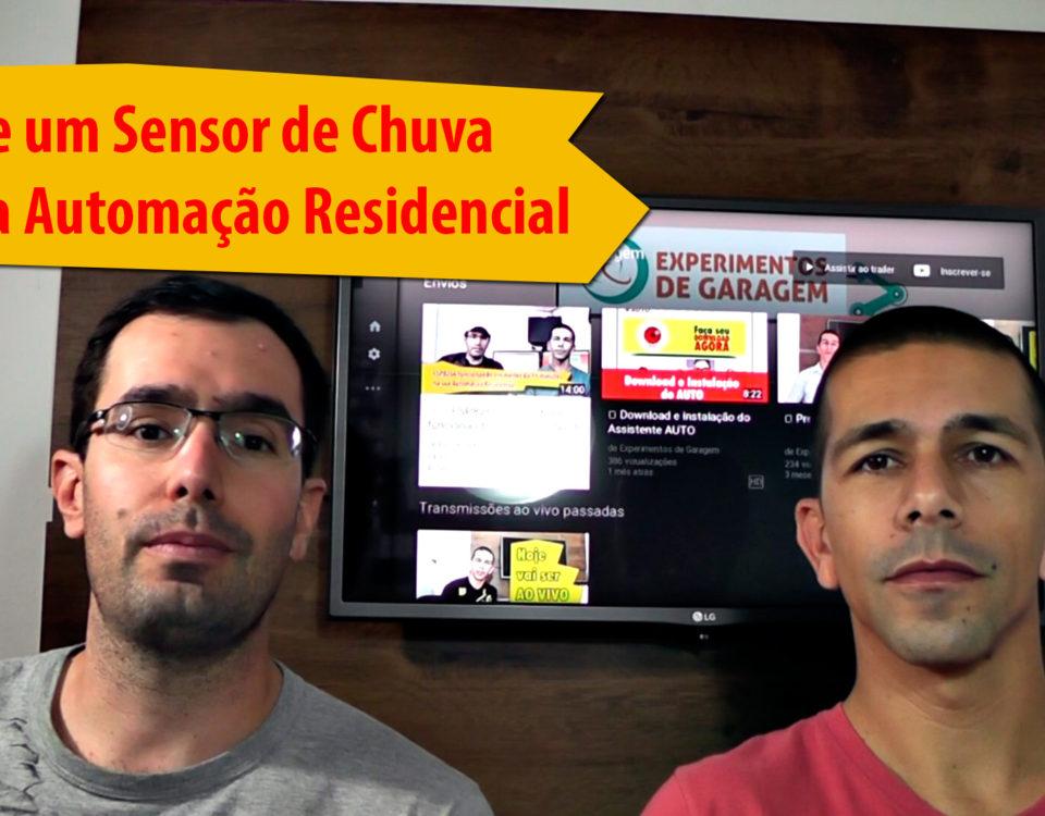 Utilize um Sensor de Chuva na sua Automação Residencial