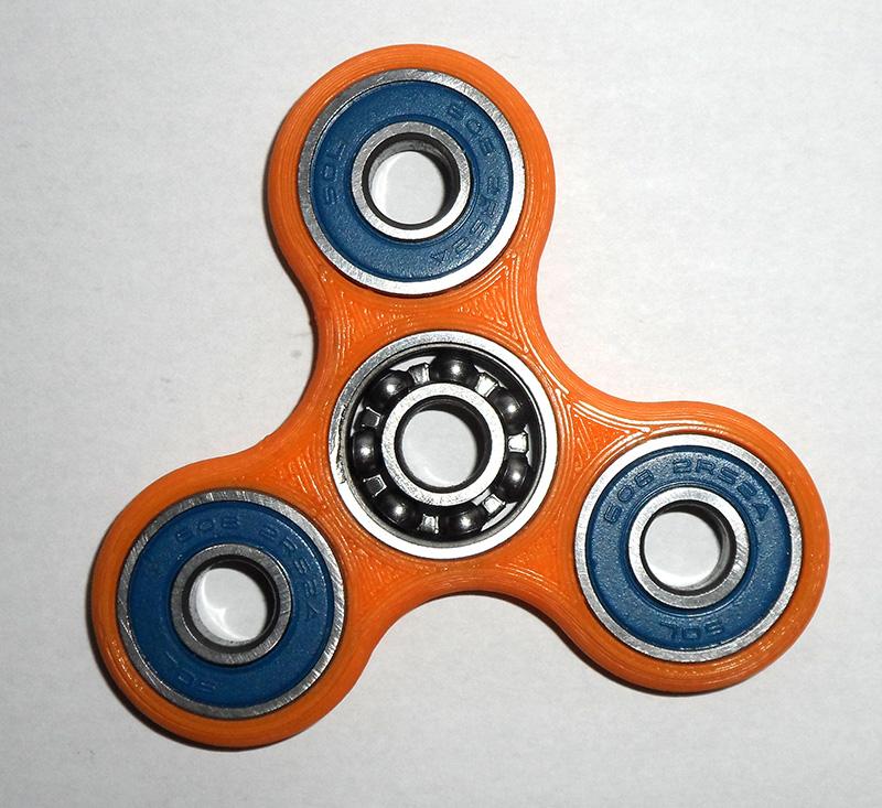Hand Spinner ou Fidget